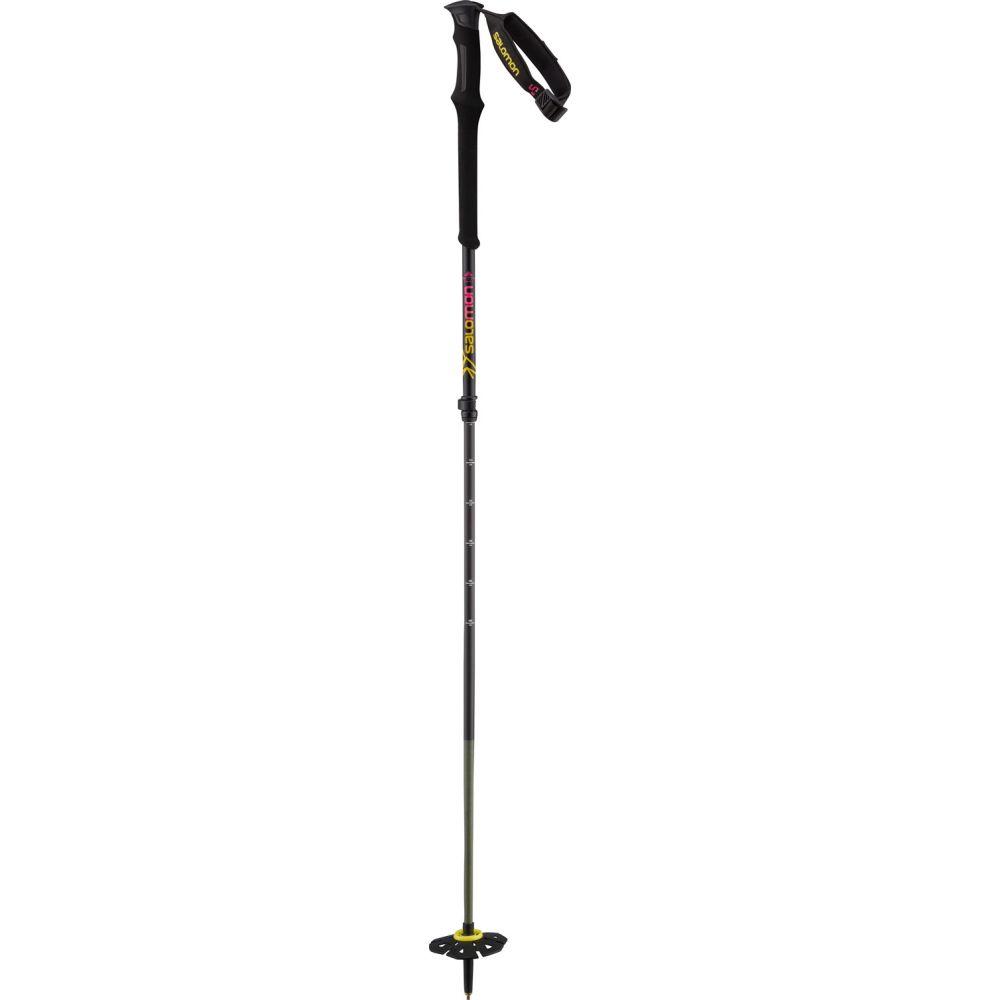 サロモン Salomon メンズ スキー・スノーボード ポール【Mtn Carbon S3 Ski Poles】Black/Yellow
