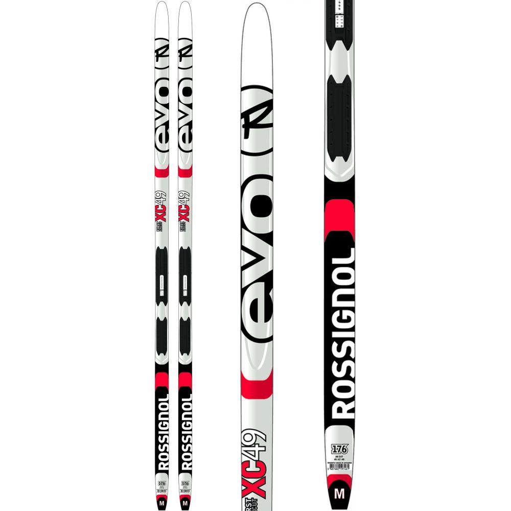 ロシニョール Rossignol メンズ スキー・スノーボード ビンディング【Evo XC 49 IFP XC Skis w/ Tour Step-In Bindings 2020】