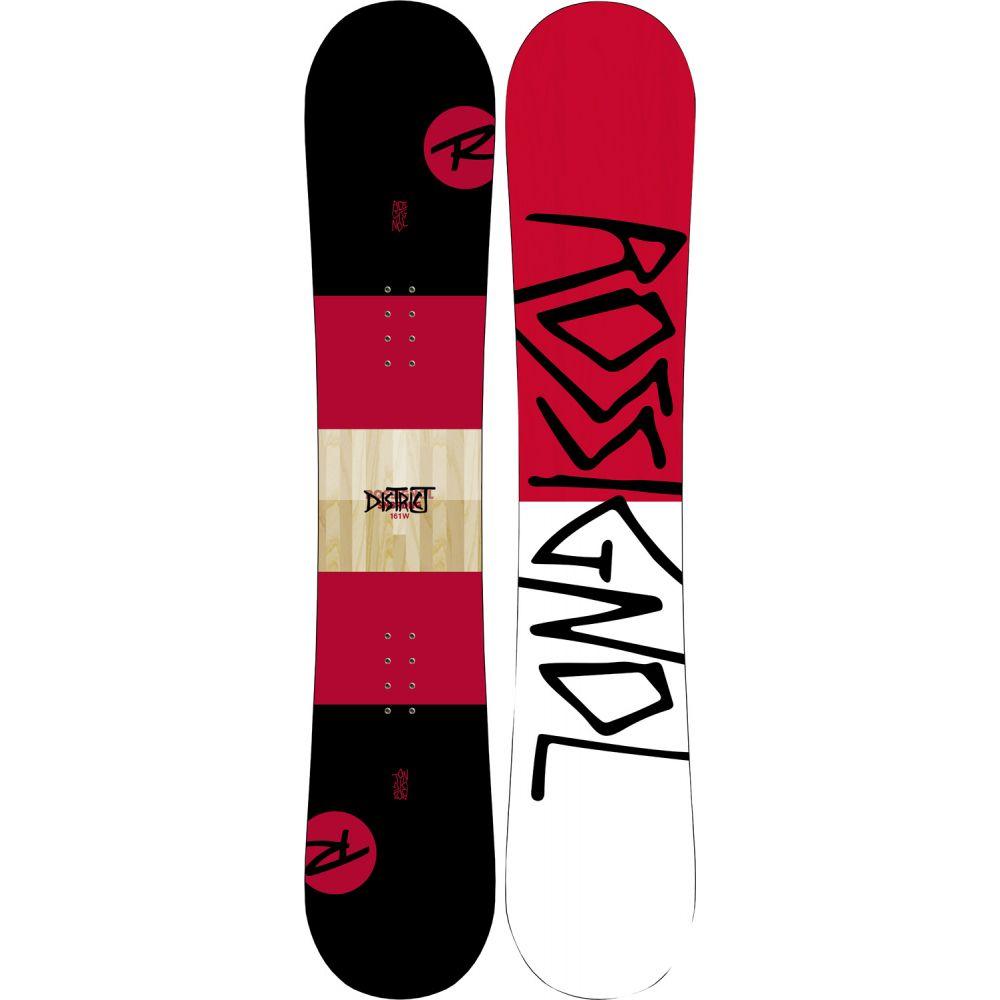 ロシニョール Rossignol メンズ スキー・スノーボード ボード・板【District Wide Snowboard 2019】Black/Red