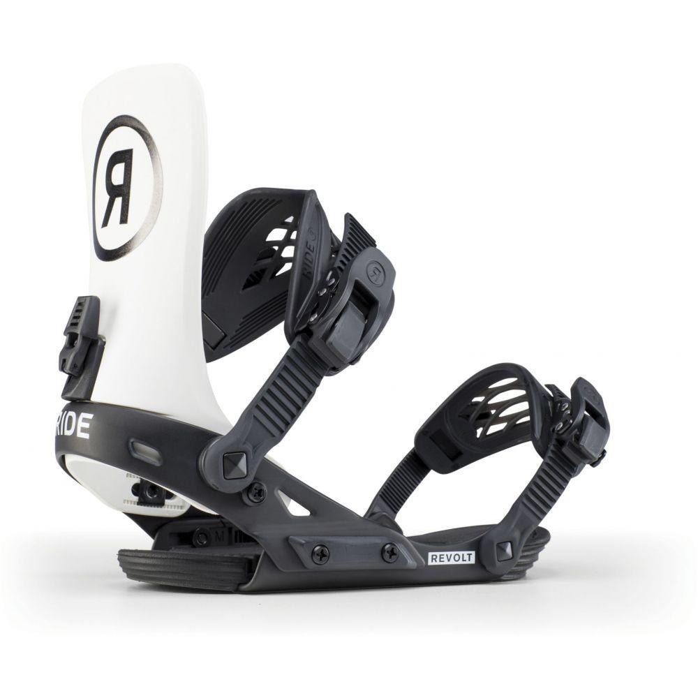 ライド Ride メンズ スキー・スノーボード ビンディング【Revolt Snowboard Bindings 2020】Off White