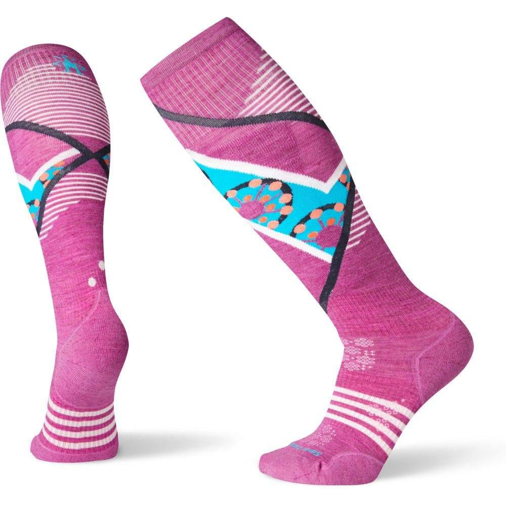 スマートウール Smartwool レディース スキー・スノーボード ソックス【PhD Ski Light Elite Pattern Socks】Meadow Mauve