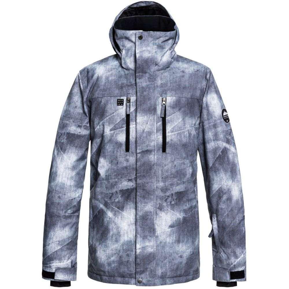 クイックシルバー Quiksilver メンズ スキー・スノーボード ジャケット アウター【Mission Printed Snowboard Jacket 2019】Grey Simple Texture