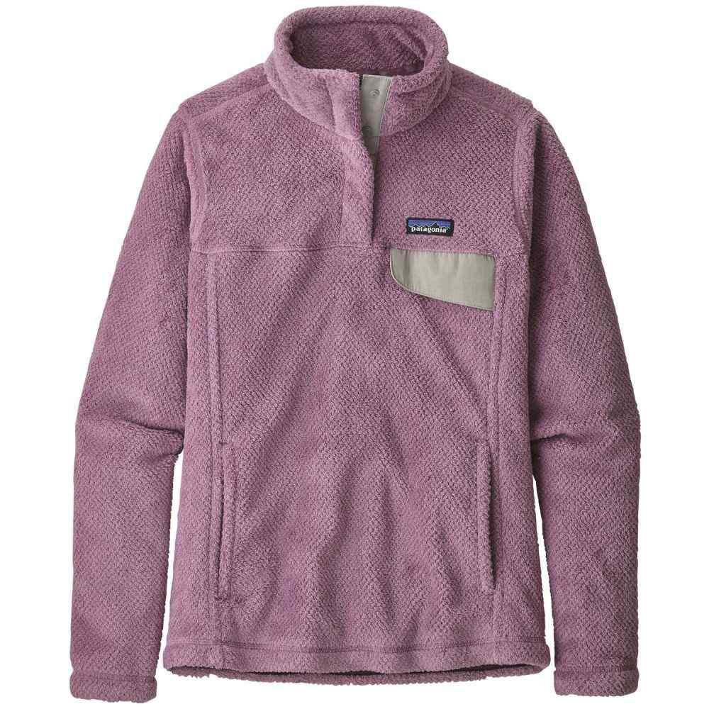 パタゴニア Patagonia レディース フリース トップス【Re-Tool Snap-T Pullover Fleece】Verbena Purple/Verbena Purple Crossdye