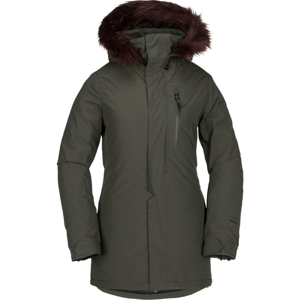 ボルコム Volcom レディース スキー・スノーボード ジャケット アウター【Eva Insulated Gore-Tex Snowboard Jacket 2019】Forest