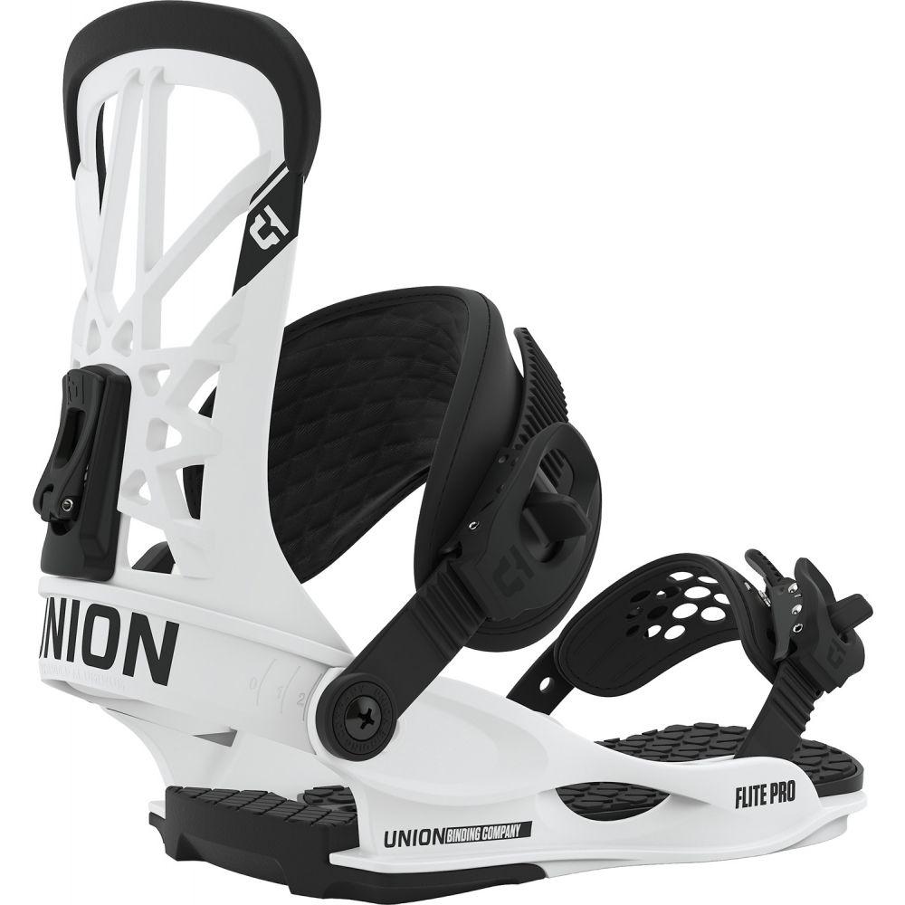 ユニオン Union メンズ スキー・スノーボード ビンディング【Flite Pro Snowboard Bindings 2020】White