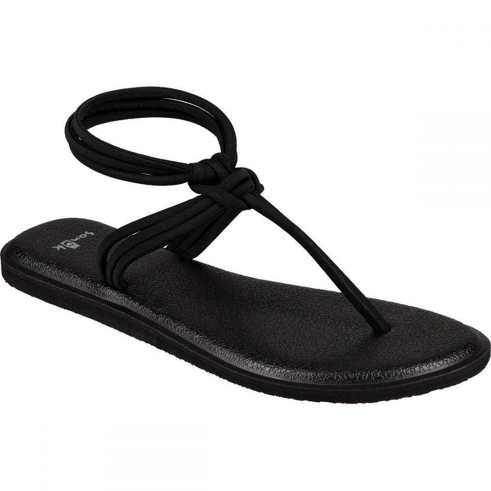 サヌーク Sanuk レディース ヨガ・ピラティス サンダル シューズ・靴【Yoga Sunshine Sandals】Black