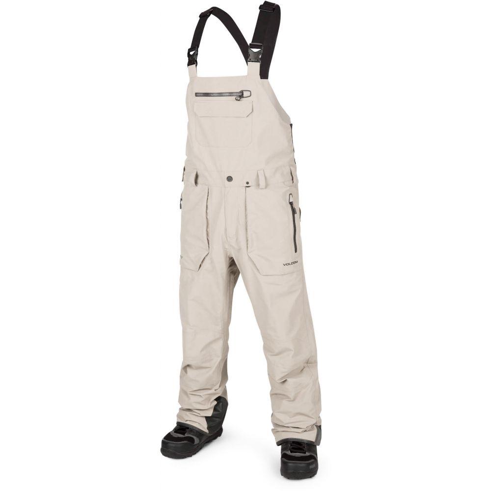 ボルコム Volcom メンズ スキー・スノーボード ビブパンツ ボトムス・パンツ【Rain Gore-Tex Bib Snowboard Pants 2020】Bone