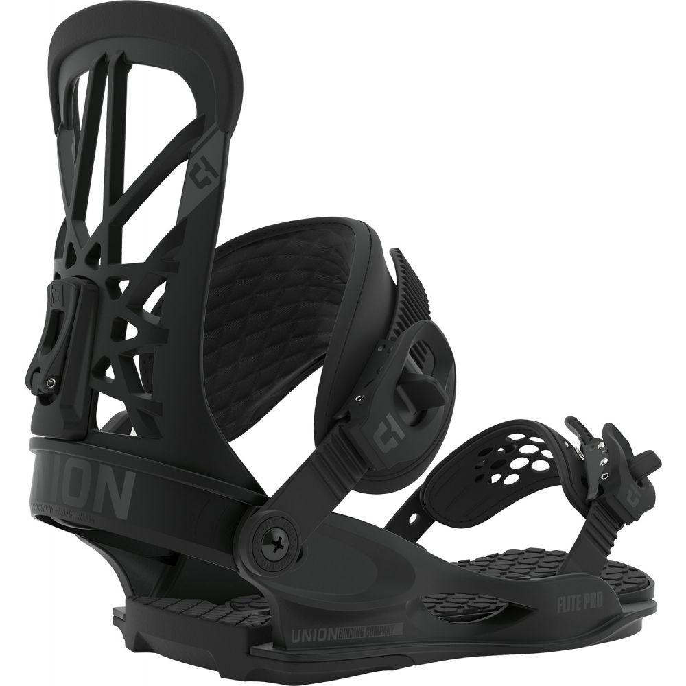 ユニオン Union メンズ スキー・スノーボード ビンディング【Flite Pro Snowboard Bindings 2020】Black