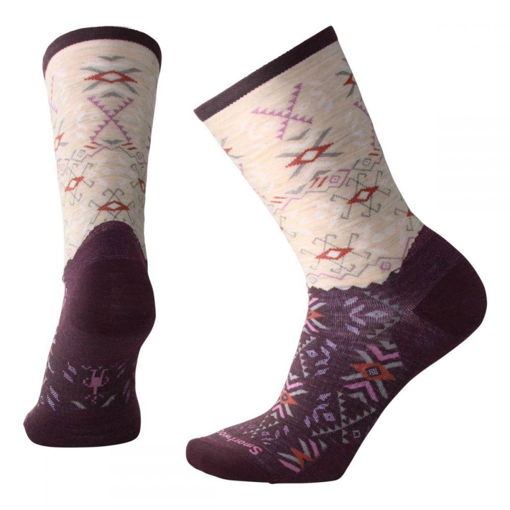 スマートウール Smartwool レディース スキー・スノーボード ソックス【Falling Arrow Crew Socks】Bordeaux Heather