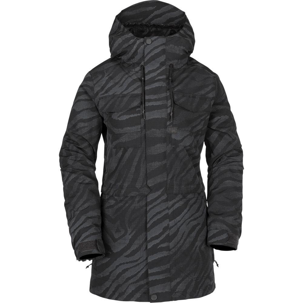 ボルコム Volcom レディース スキー・スノーボード ジャケット アウター【Leeland Snowboard Jacket 2019】Black On Black