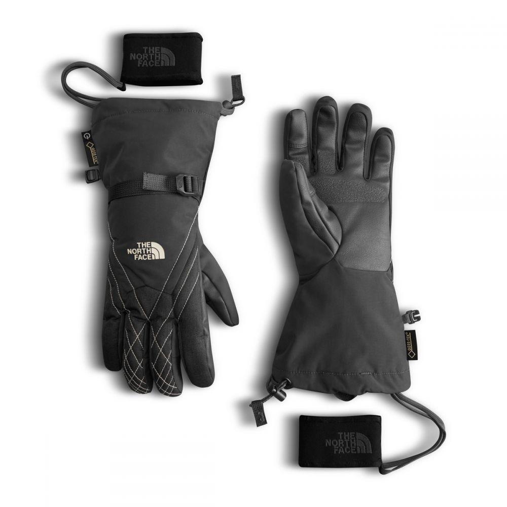 ザ ノースフェイス The North Face レディース スキー・スノーボード グローブ【Montana Gore-Tex Gloves】Asphalt Grey/Butter Cream Ivory