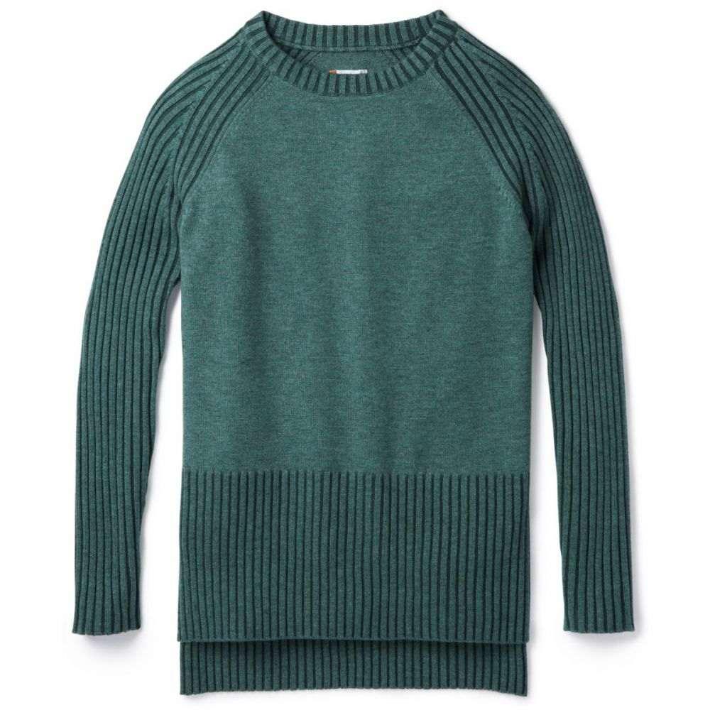 スマートウール Smartwool レディース チュニック トップス【Ripple Creek Tunic Sweater】Mediterranean Green Heather