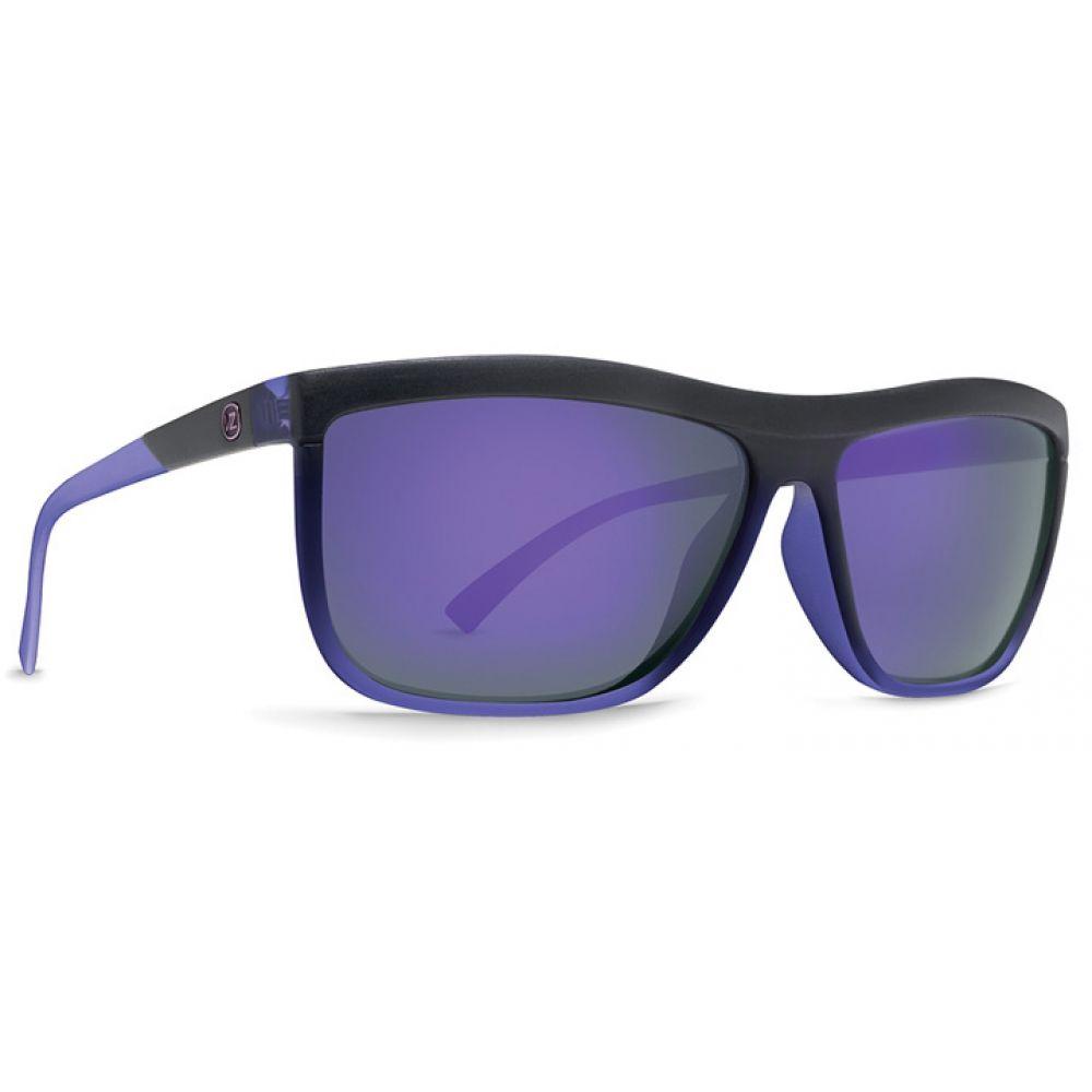 ボンジッパー Vonzipper レディース メガネ・サングラス 【Luna Sunglasses】Black Purple Pow Pow/Meteor Glo Lens