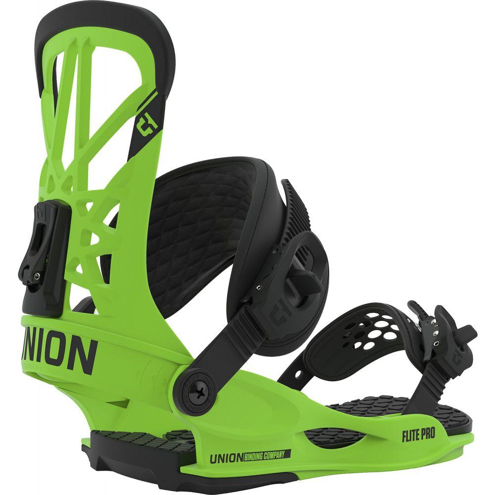 ユニオン Union メンズ スキー・スノーボード ビンディング【Flite Pro Snowboard Bindings 2020】Acid Green
