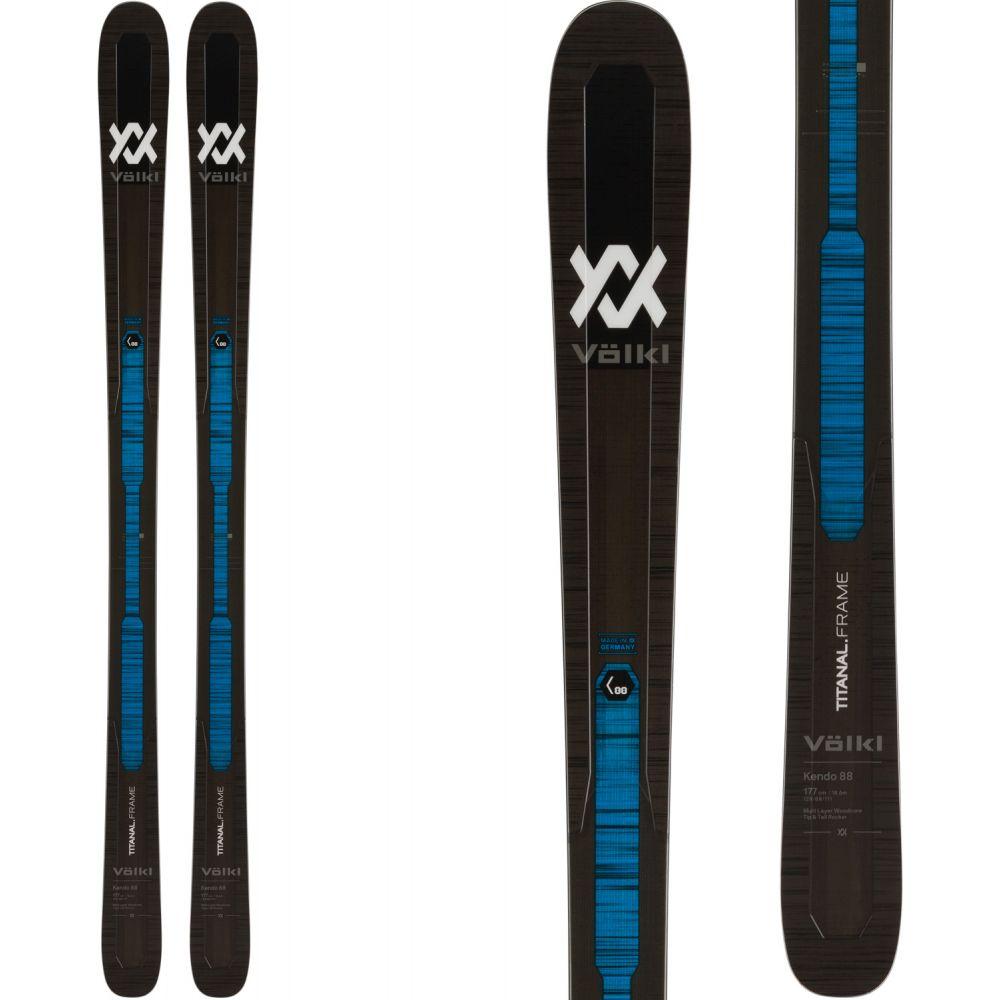 フォルクル Volkl メンズ スキー・スノーボード ボード・板【Kendo 88 Skis 2020】