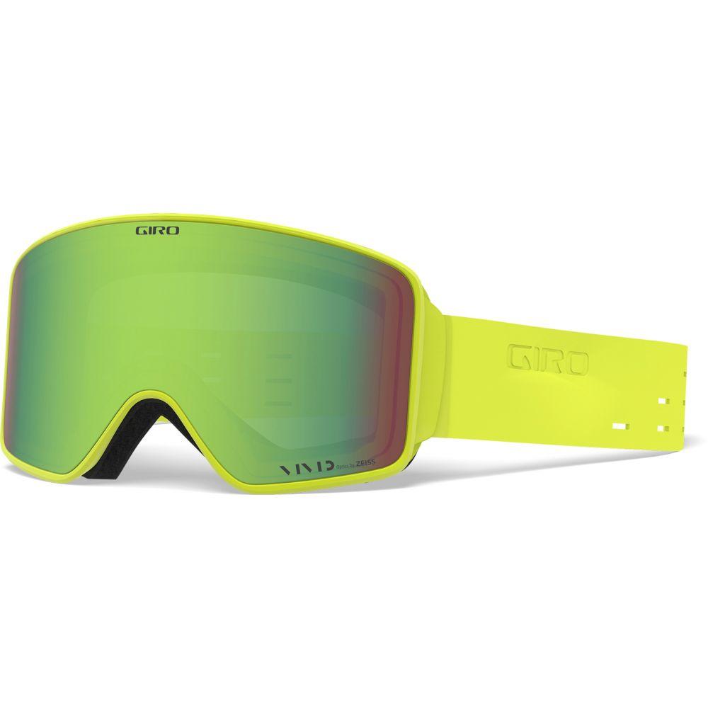 ジロ Giro メンズ スキー・スノーボード ゴーグル【Method Goggles】Silicone Citron/Vivid Emerald and Vivid Infrared Lens