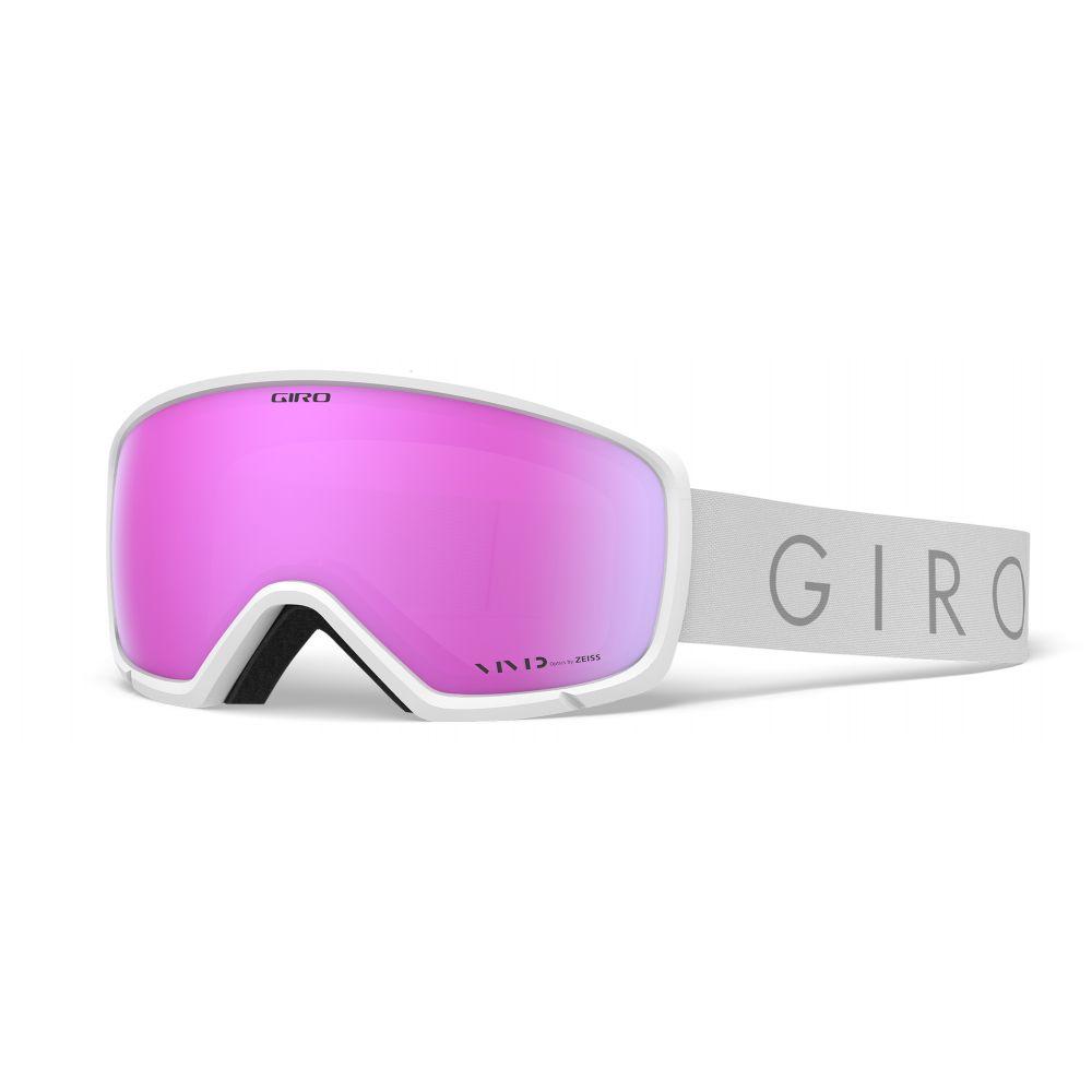 ジロ Giro メンズ スキー・スノーボード ゴーグル【Ringo Goggles】White Core Light/Vivid Pink Lens