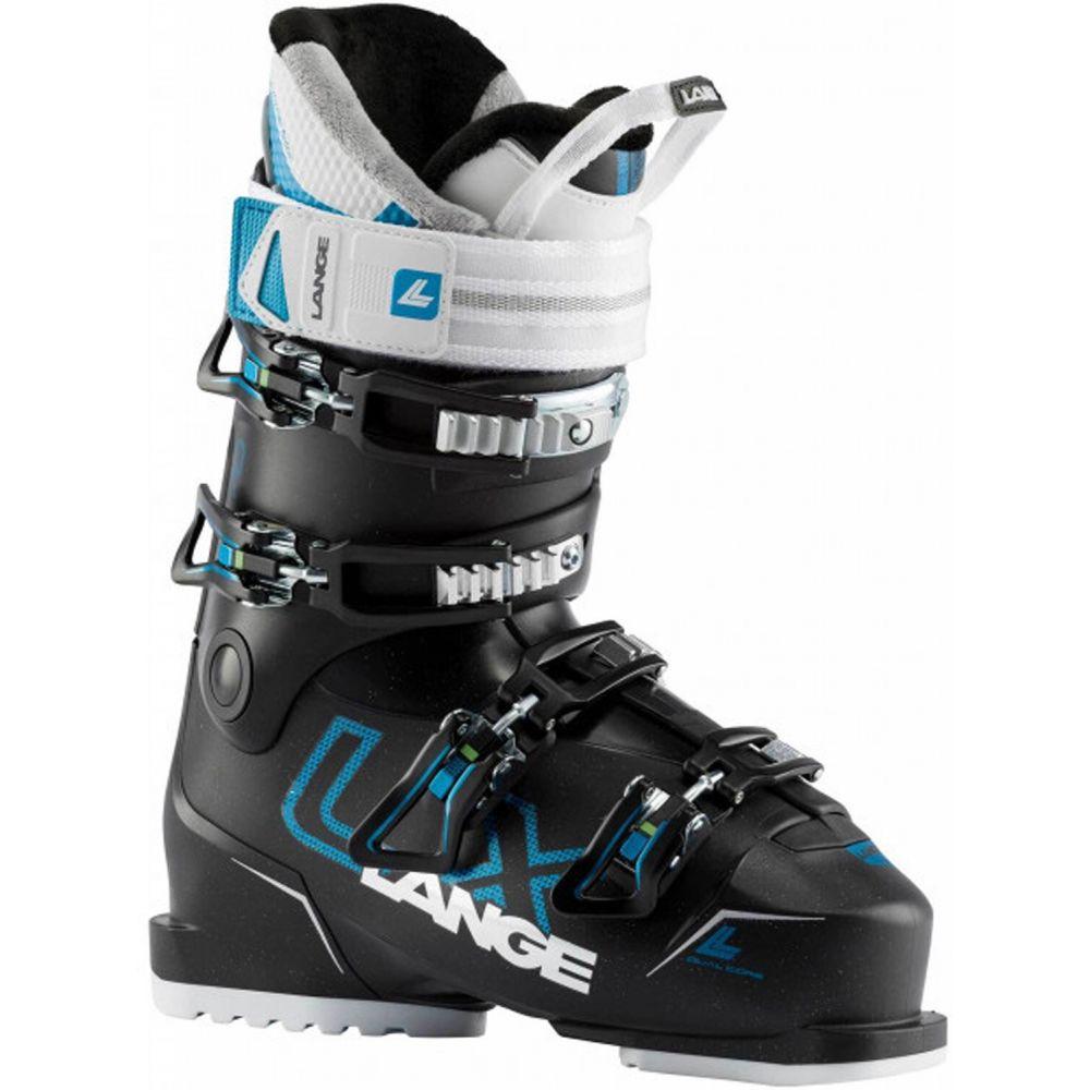 ランジェ Lange レディース スキー・スノーボード ブーツ シューズ・靴【LX 70 Ski Boots 2020】Black Glitter/Blue Metallic Blue
