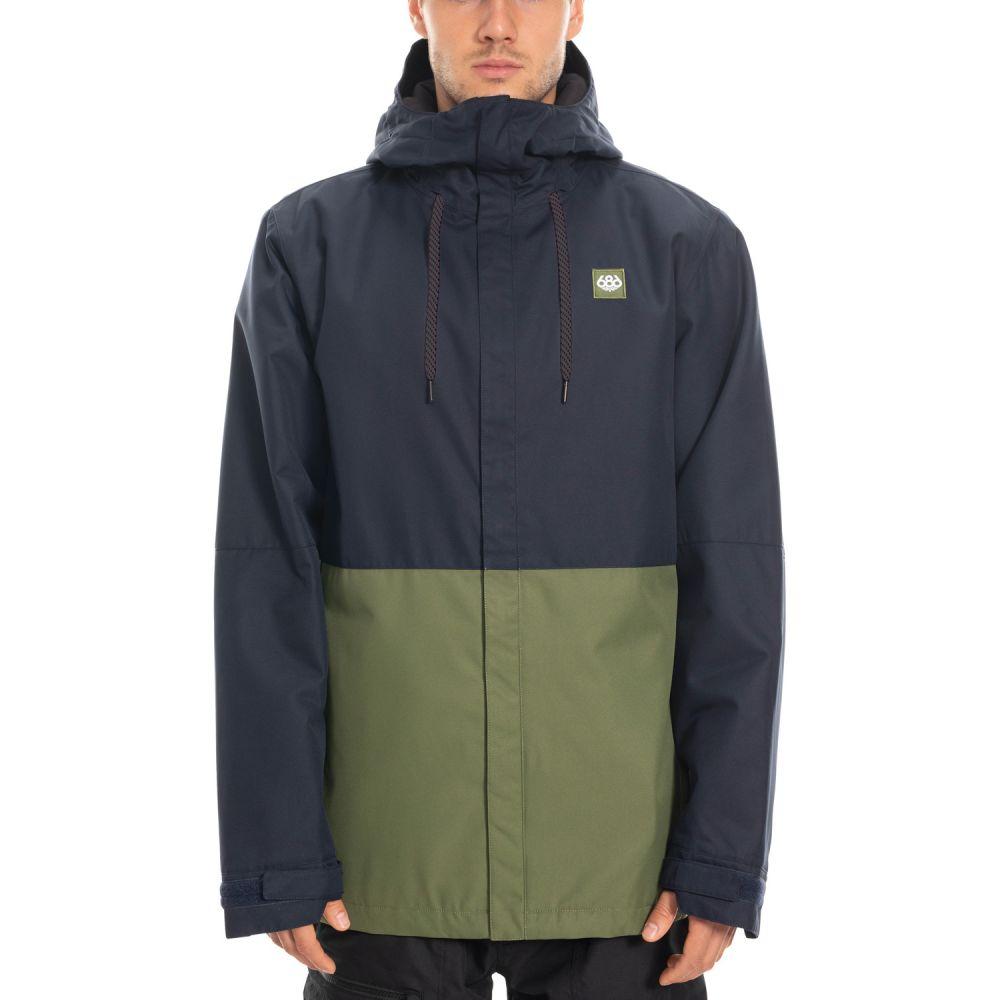 シックス エイト シックス 686 メンズ スキー・スノーボード ジャケット アウター【Foundation Insulated Snowboard Jacket 2020】Navy Colorblock