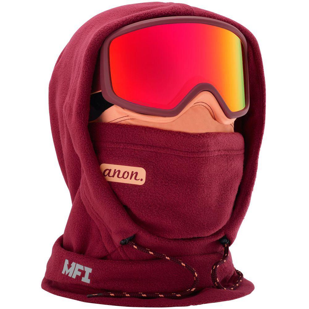 アノン Anon レディース 帽子 フェイスマスク【MFI XL Hooded Clava Balaclava】Purple
