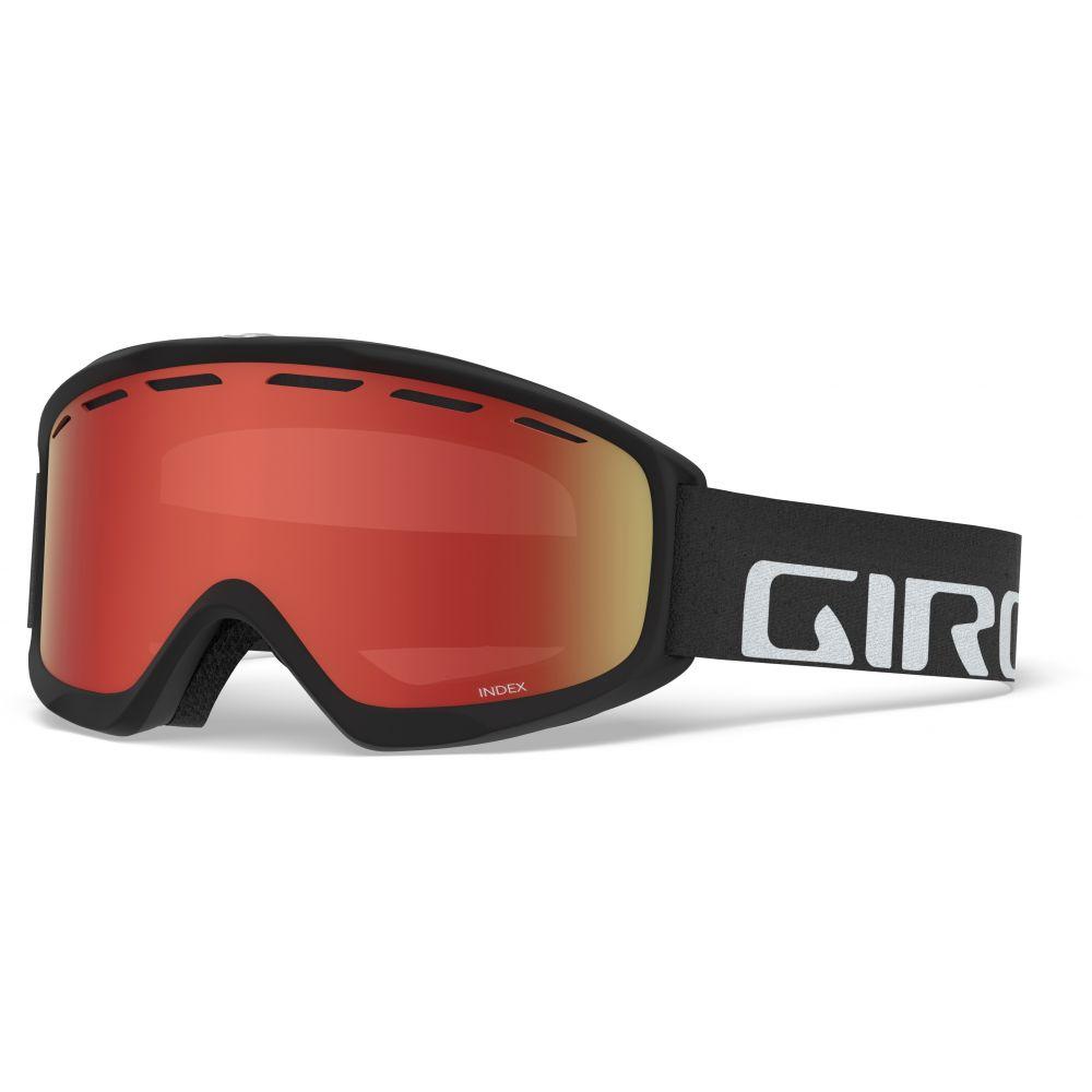 ジロ Giro メンズ スキー・スノーボード ゴーグル【Index Goggles】Black Wordmark/Amber Scarlet Lens