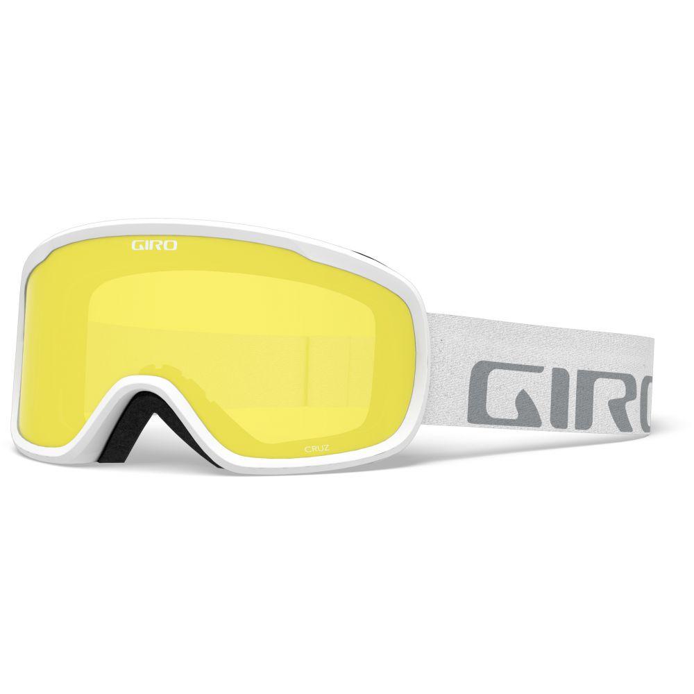 ジロ Giro メンズ スキー・スノーボード ゴーグル【Cruz Goggles】White Wordmark/Yellow Boost Lens