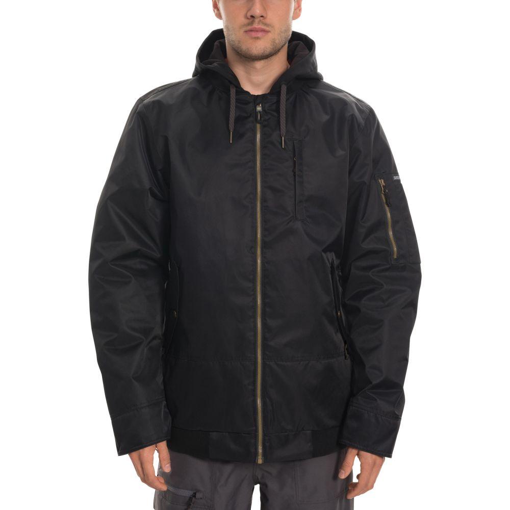 シックス エイト シックス 686 メンズ スキー・スノーボード ミリタリージャケット ジャケット アウター【Bomber Insulated Snowboard Jacket 2020】黒 Satin