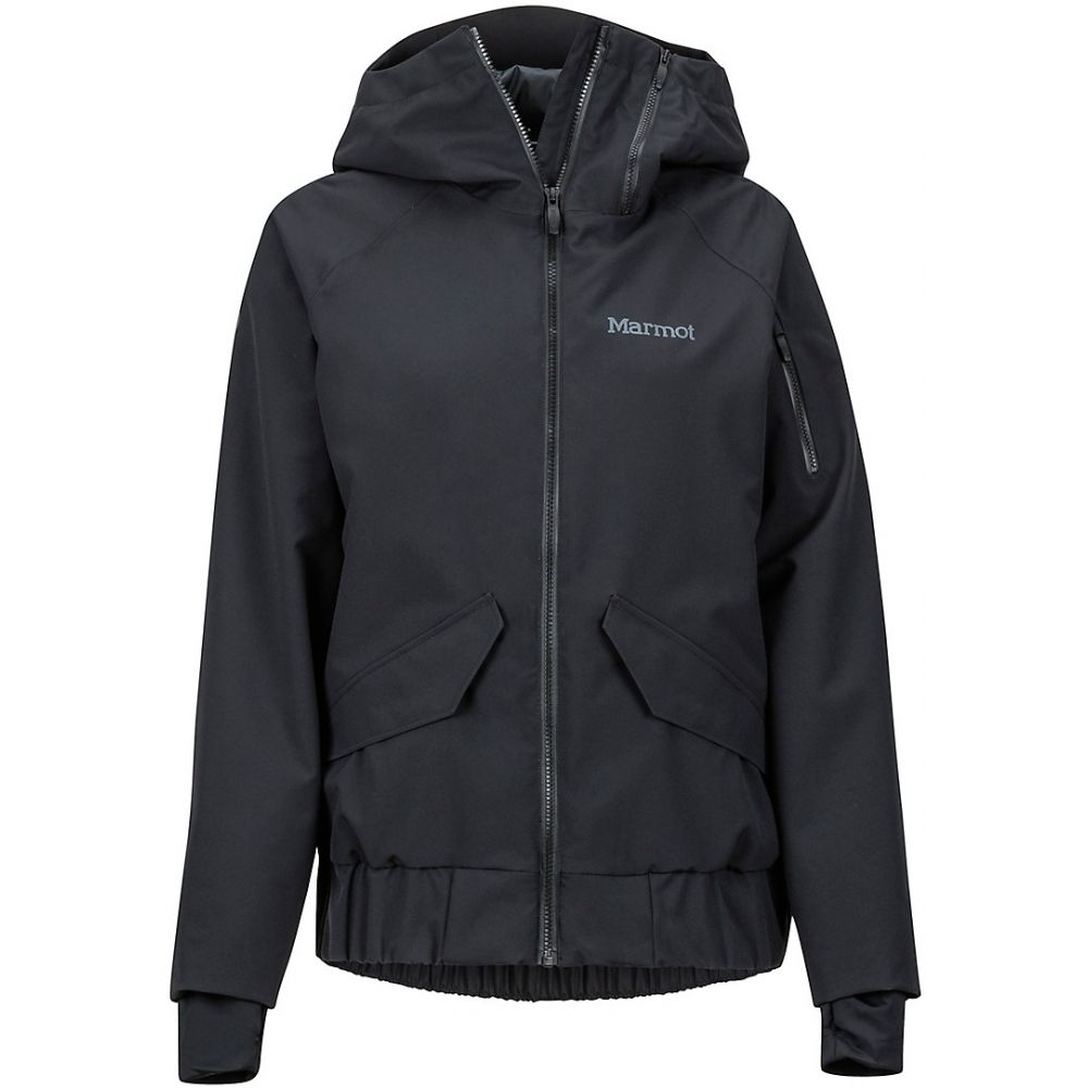マーモット Marmot レディース スキー・スノーボード ジャケット アウター【Queenstown Ski Jacket】Black