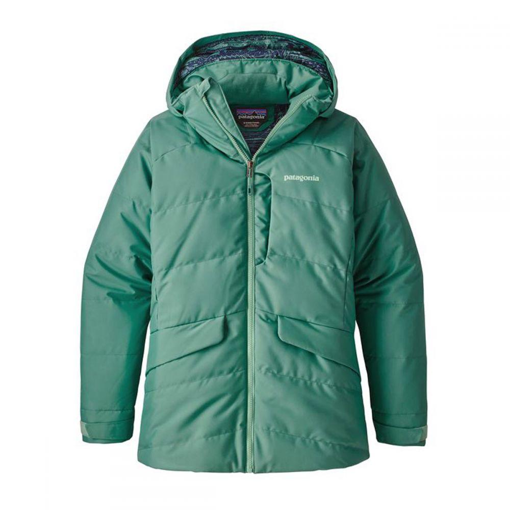 パタゴニア レディース スキー・スノーボード アウター Beryl Green 【サイズ交換無料】 パタゴニア Patagonia レディース スキー・スノーボード ダウン・中綿 ジャケット アウター【Pipe Down Ski Jacket】Beryl Green