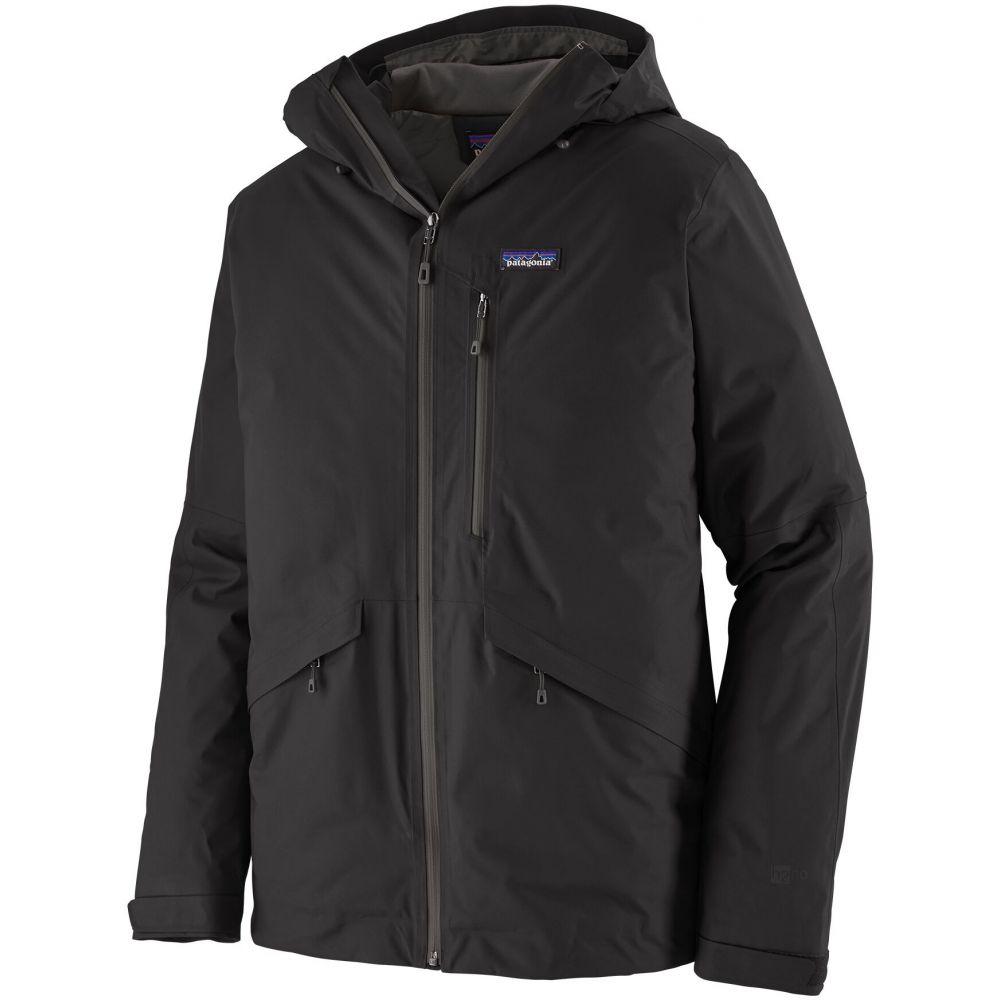 パタゴニア Patagonia メンズ スキー・スノーボード ジャケット アウター【Insulated Snowshot Ski Jacket】Black