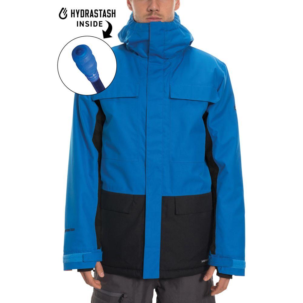 シックス エイト シックス 686 メンズ スキー・スノーボード ジャケット アウター【Hydrastash Canteen Insulated Snowboard Jacket 2020】Strata Blue Colorblock