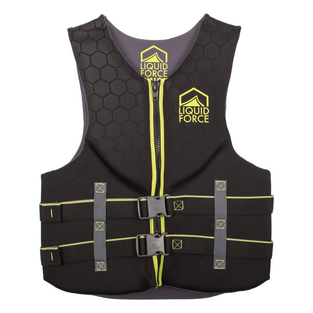 リキッドフォース Liquid Force メンズ トップス【Hinge CGA Wakeboard Vest】Black/Green