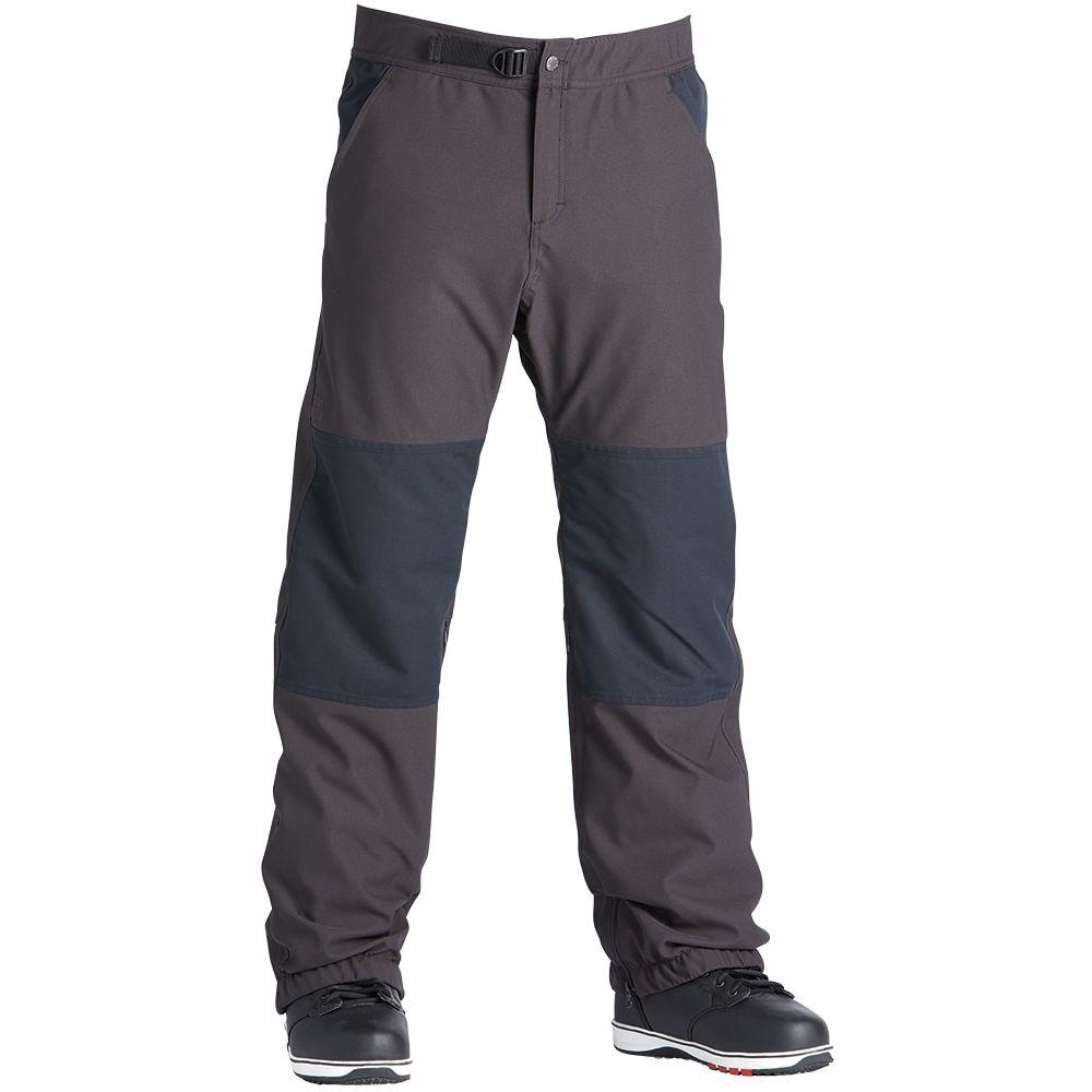 エアブラスター Airblaster メンズ スキー・スノーボード ボトムス・パンツ【Elastic Boss Snowboard Pants 2020】Vintage Black