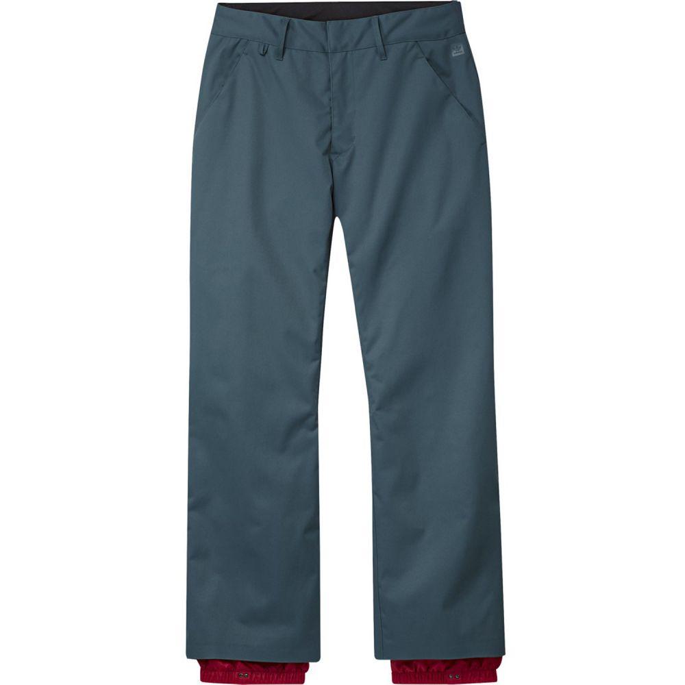 アディダス Adidas メンズ スキー・スノーボード チノパン ボトムス・パンツ【Snow Chino Snowboard Pants 2020】Viridian/Power Red