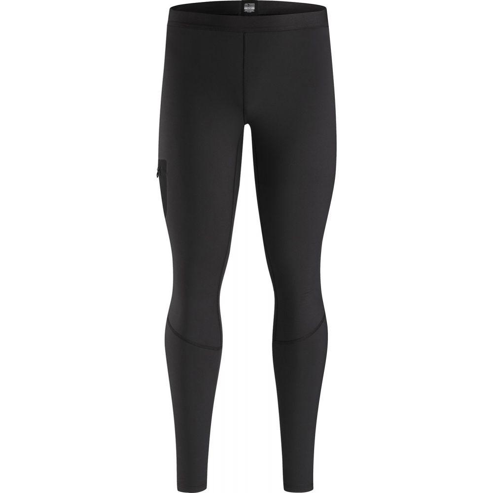 アークテリクス Arc'teryx メンズ タイツ・スパッツ ベースレイヤー インナー・下着【Rho LT Baselayer Pants】Black