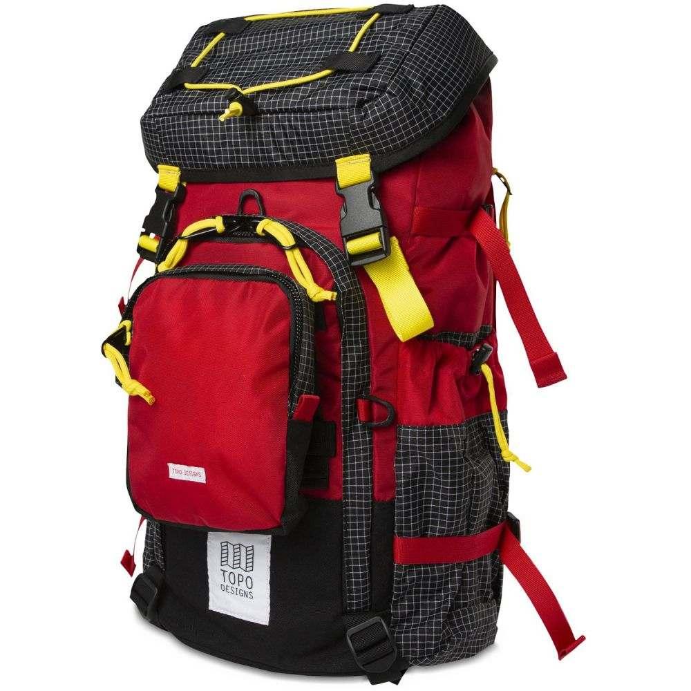 トポ デザイン Topo Designs メンズ バックパック・リュック バッグ【Subalpine Backpack】Red