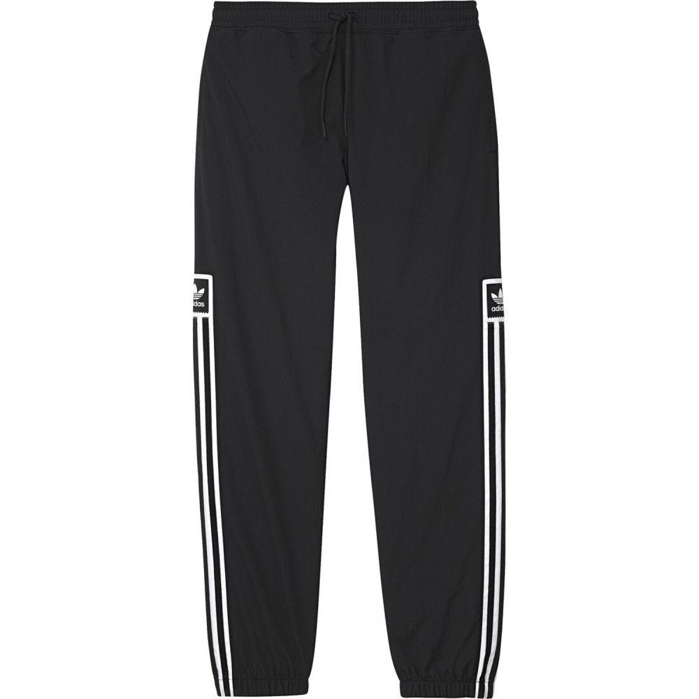 アディダス Adidas メンズ ボトムス・パンツ 【Standard Wind Pants】Black/White