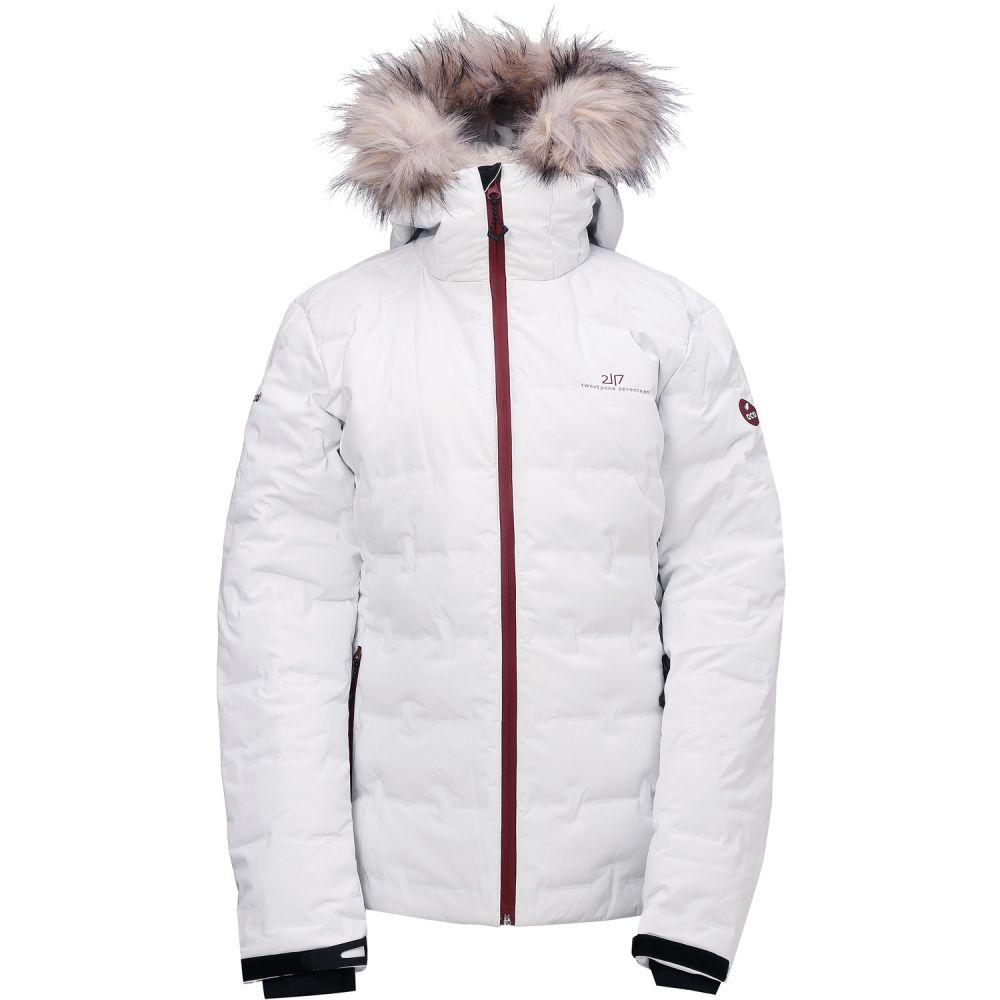 2117オブ スウェーデン 2117 Of Sweden レディース スキー・スノーボード ダウン・中綿 ジャケット アウター【Mon Eco Down Snowboard Jacket 2020】Off-White