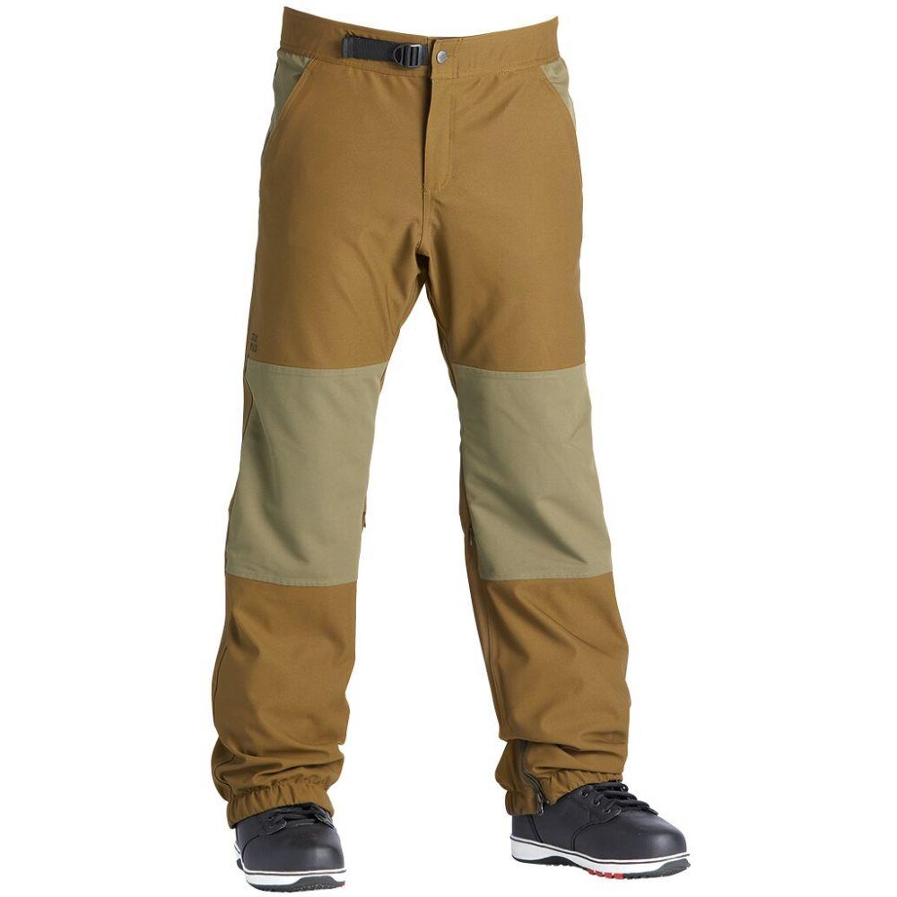 エアブラスター Airblaster メンズ スキー・スノーボード ボトムス・パンツ【Elastic Boss Snowboard Pants 2020】Olive Moose