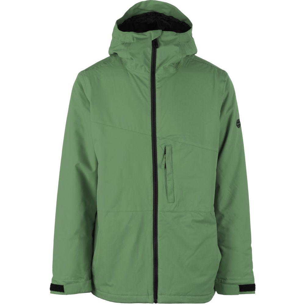 シックス エイト シックス 686 メンズ スキー・スノーボード ジャケット アウター【Prime Snowboard Jacket】Camp Green