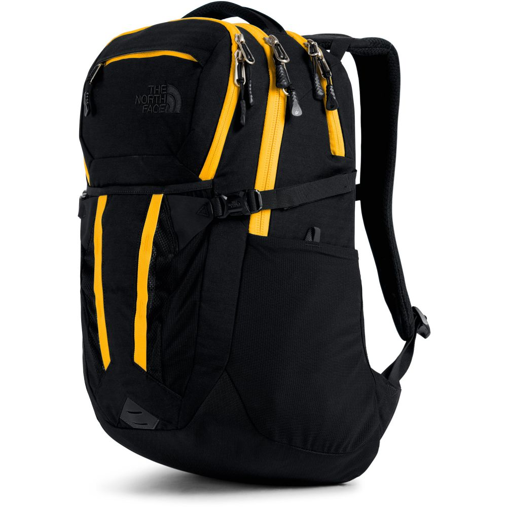 ザ ノースフェイス The North Face メンズ バックパック・リュック バッグ【Recon Backpack】TNF Black Light Directional Heather/TNF Yellow