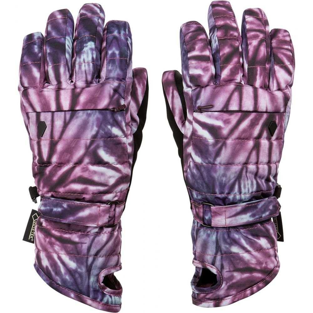 ボルコム Volcom レディース スキー・スノーボード グローブ【Peep Gore-Tex Gloves】Purple