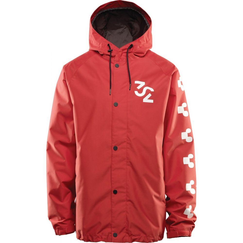 サーティーツー Thirty Two メンズ スキー・スノーボード ジャケット アウター【32 - Grasser Snowboard Jacket 2020】Red