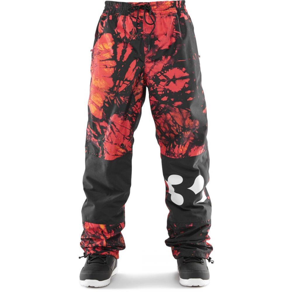 サーティーツー Thirty Two メンズ スキー・スノーボード ボトムス・パンツ【32 - Sweeper Snowboard Pants 2020】Red/Black