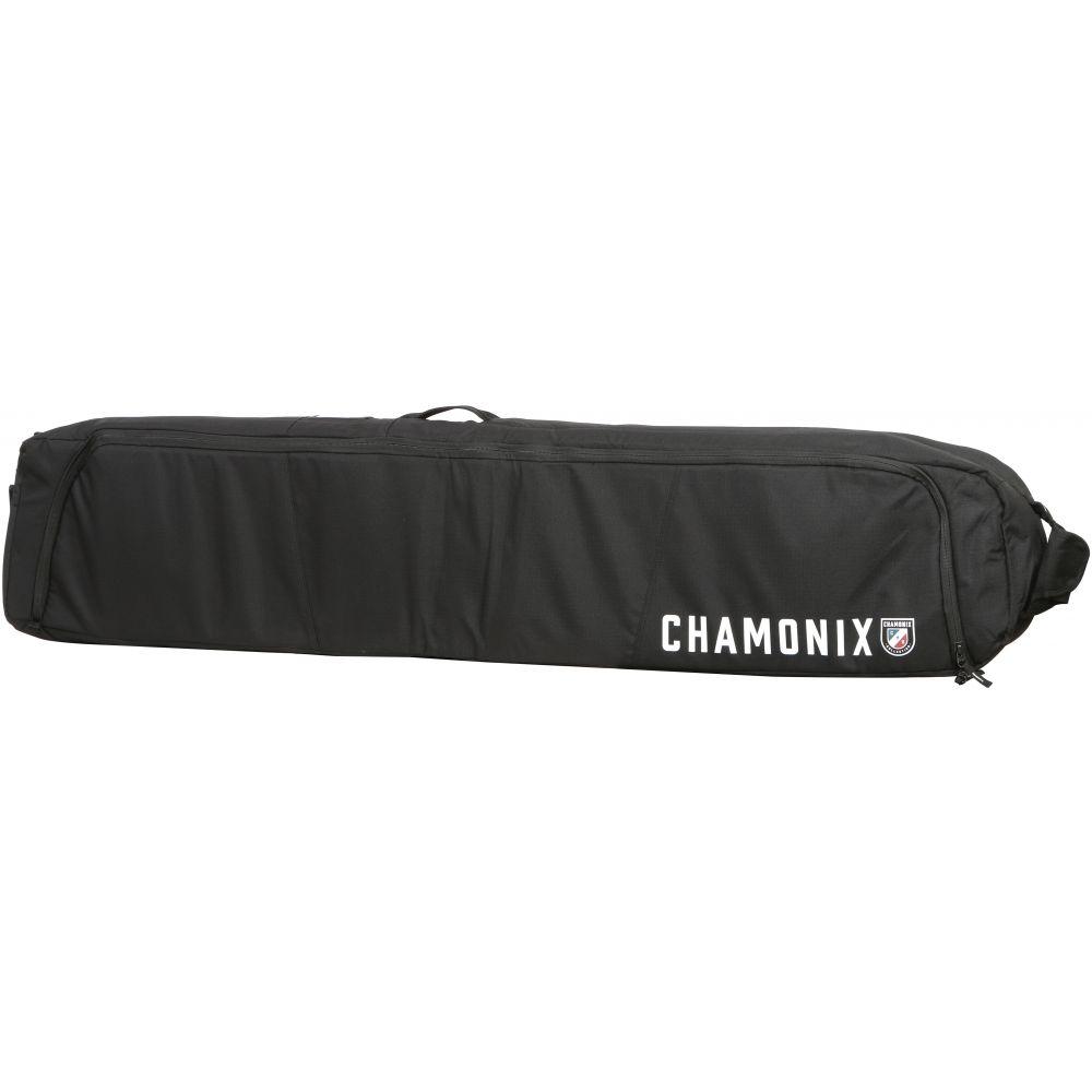 シャモニー Chamonix メンズ スキー・スノーボード スーツケース・キャリーバッグ【Mont Blanc Wheelie Roller Snowboard Bag】黒