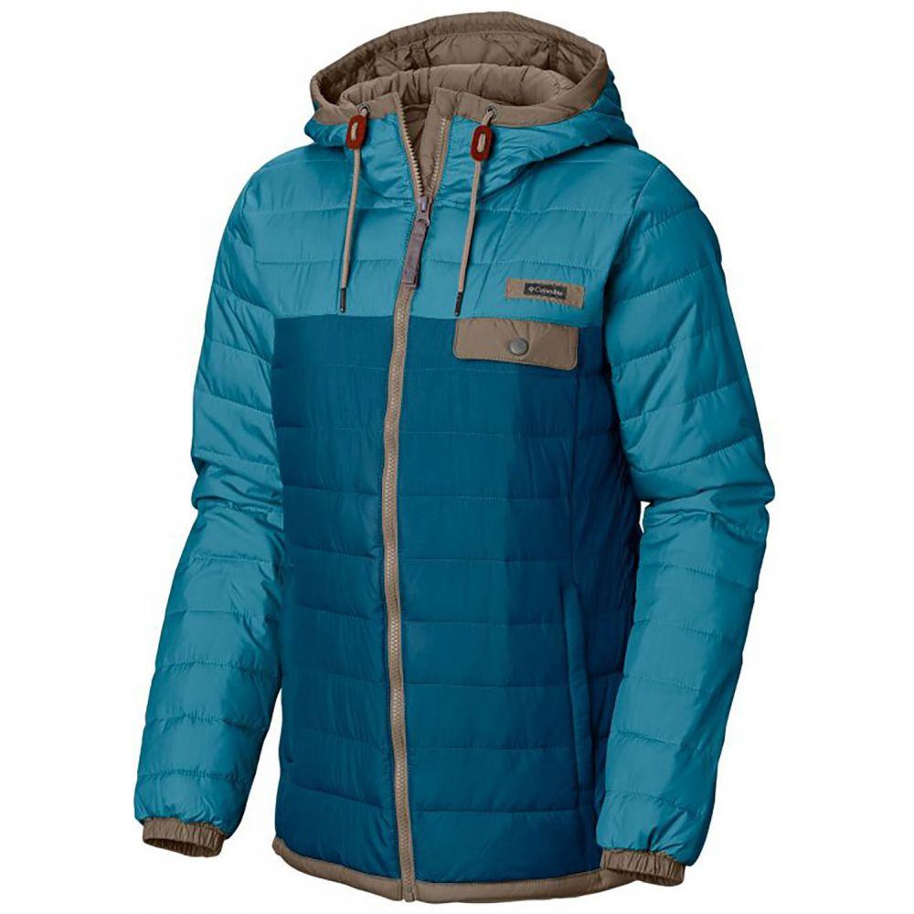コロンビア Columbia レディース ダウン・中綿ジャケット アウター【Mountainside Full Zip Jacket】Lagoon/Beta