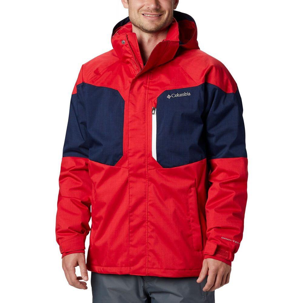 コロンビア Columbia メンズ スキー・スノーボード ジャケット アウター【Alpine Action Ski Jacket】Mountain Red/Collegiate Navy
