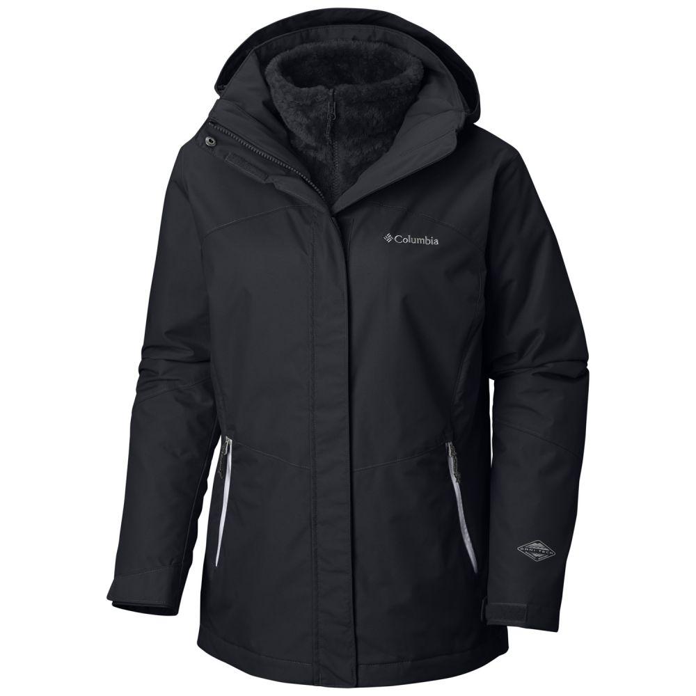 コロンビア レディース スキー・スノーボード アウター Black 【サイズ交換無料】 コロンビア Columbia レディース スキー・スノーボード ジャケット アウター【Bugaboo II Fleece Interchange Ski Jacket】Black