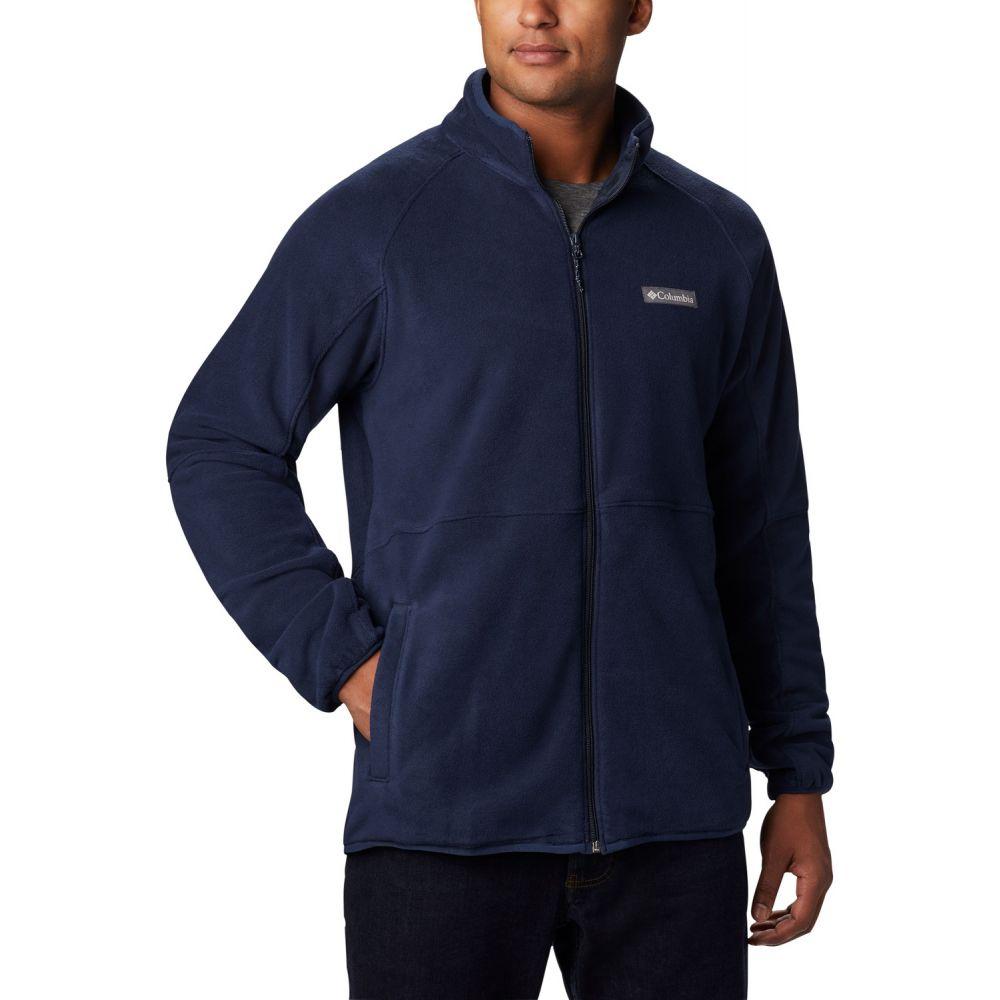 コロンビア Columbia メンズ フリース トップス【Basin Trail Full-Zip Fleece】Collegiate Navy
