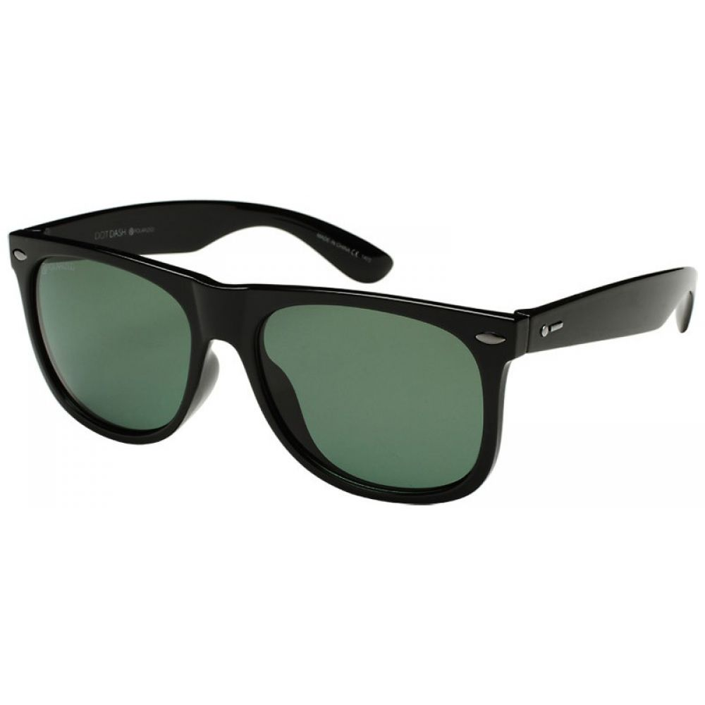 ドットダッシュ Dot Dash メンズ メガネ・サングラス 【Kerfuffle Sunglasses】Black Gloss/Grey Polarized Lens